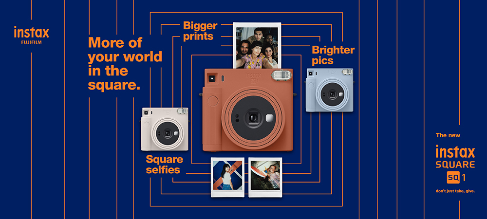 Homepage Banner - Instax SQ1