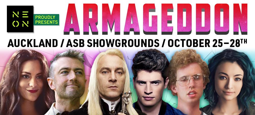 Homepage Banner - Armageddon - October 2019