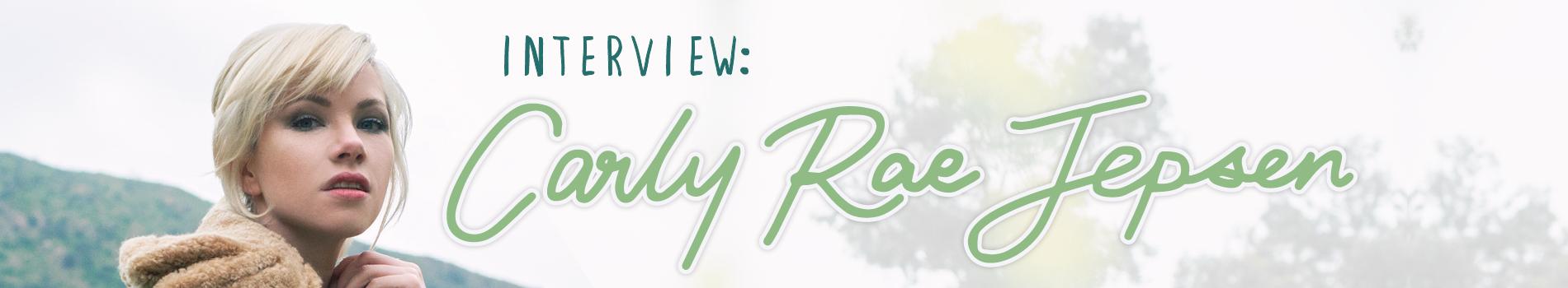 Carly Rae Jepsen - Masthead Banner