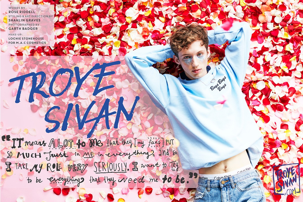 Interview: The Internet's BFF, Troye Sivan.