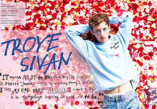 Interview: The Internet's BFF, Troye Sivan.